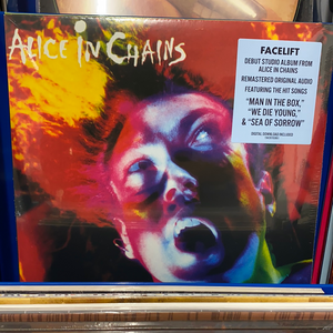 ALICE IN CHAINS: FACELIFT 2LP VINYL RECORD (08.01.21)
