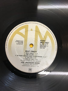 THE JOE JACKSON BAND LP ; BEAT CRAZY