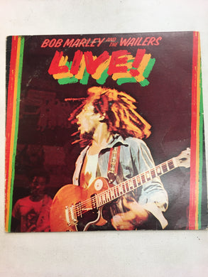 BOB MARLEY & THE WAILERS LP ; LIVE ( inc poster )