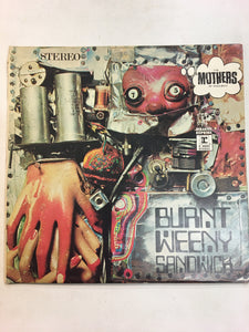 THE MOTHERS OF INVENTION LP ; BURNT WEENY SANDWICH