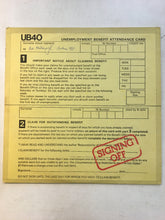 "Load image into Gallery viewer, UB40 LP + 12"" ; SIGNING OFF"