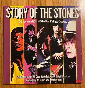 THE ROLLING STONES: STORY OF THE STONES 2LP VINTAGE VINYL
