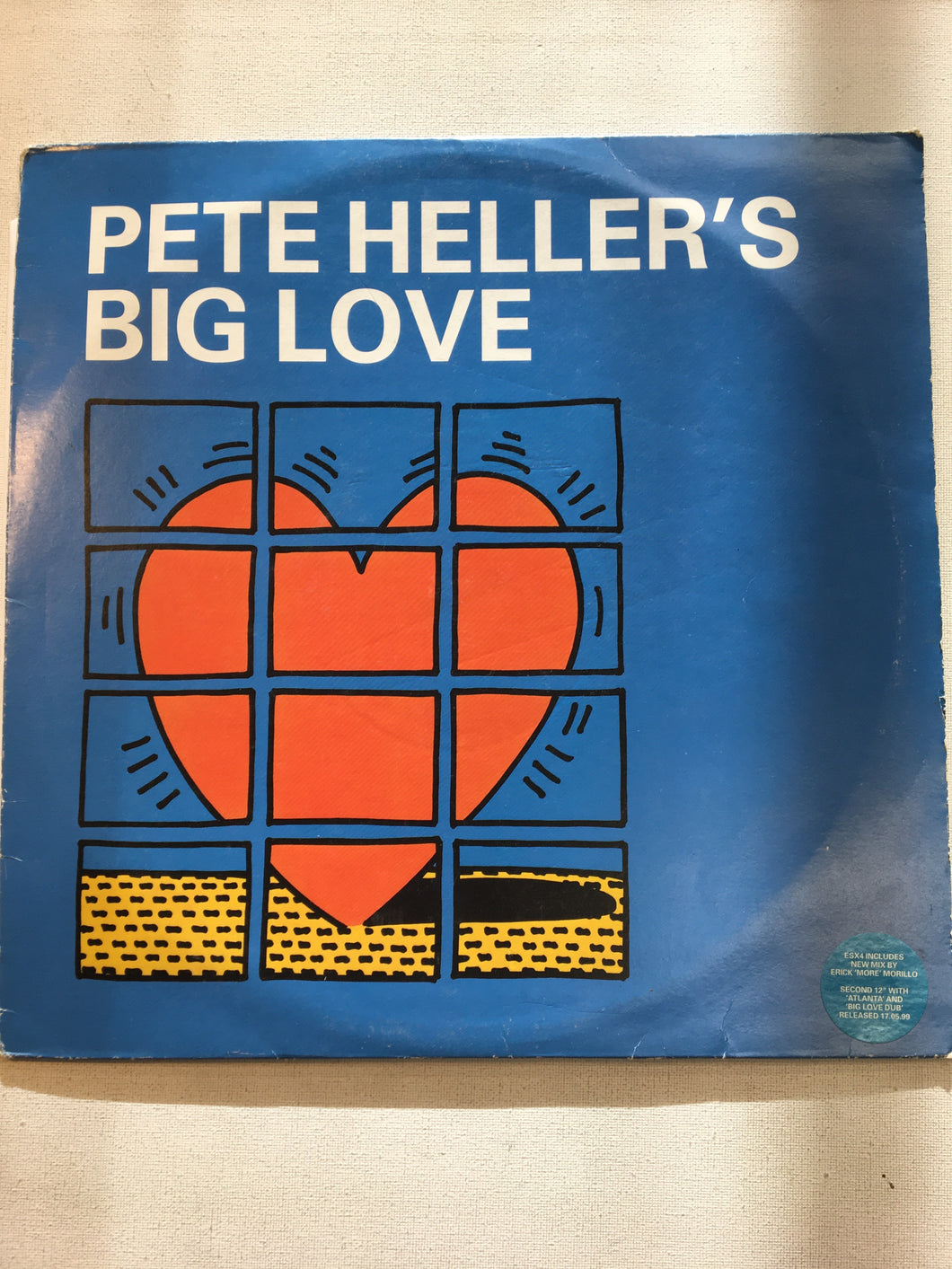 "PETE HELLER 12"" ; PETE HELLER'S BIG LOVE"