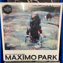 Load image into Gallery viewer, MAXIMO PARK: NATURE ALWAYS WINS DELUXE GATEFOLD VINYL RECORD (26.02.21)
