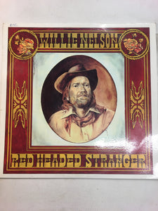 WILLIE NELSON LP ; RED HEADED STRANGER