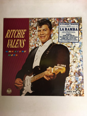 RITCHIE VALENS LP GREATEST HITS
