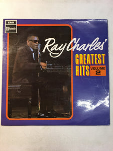RAY CHARLES LP GREATEST HITS VOL II
