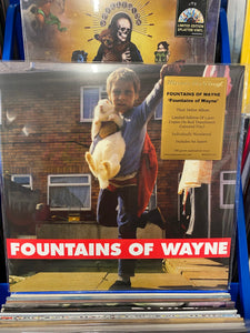 FOUNTAINS OF WAYNE: FOUNTAINS OF WAYNE LIMITED EDITION RED VINYL RECORD (26.02.21)