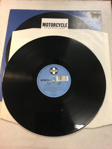"MOTORCYCLE 12"" , AS THE RUSH COMES"