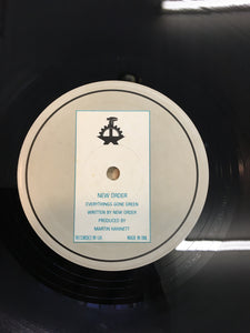 NEW ORDER EP ; EVERYTHINGS GONE GREEN