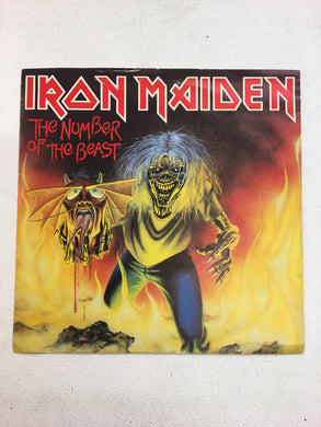 "IRON MAIDEN 7"" ; NUMBER OF THE BEAST"