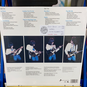 JEFF BECK: WIRED LIMITED EDITION BLUEBERRY VINYL RECORD (25.09.20)