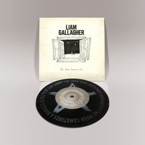 "LIAM GALLAGHER: ALL YOU'RE DREAMING OF 7"" BLACK VINYL RECORD"