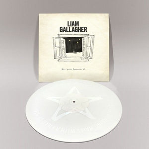 "LIAM GALLAGHER: ALL YOU'RE DREAMING OF 12"" WHITE VINYL RECORD"
