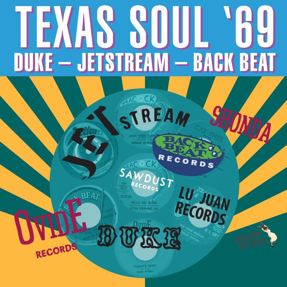 TEXAS SOUL '69 - HISTORY OF SOUL RECORDS - 12