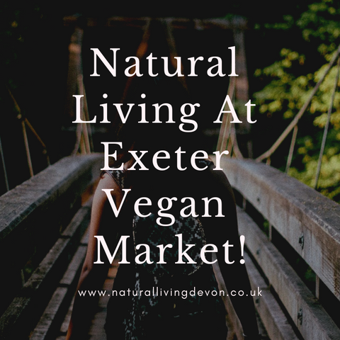 Natural Living Devon At Exeter Vegan Market