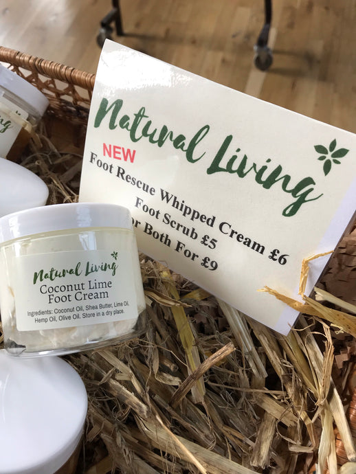 NEW Foot Rescue Whipped Cream
