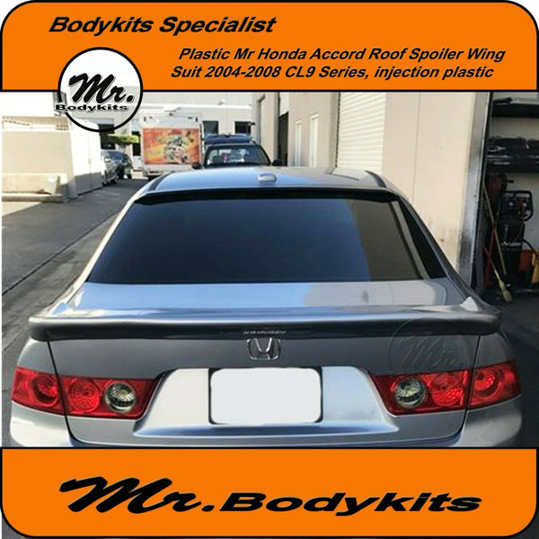 Roof Spoiler Suit Honda Accord Euro 2004-2008 Series CL9 Well Made Plastic Mr