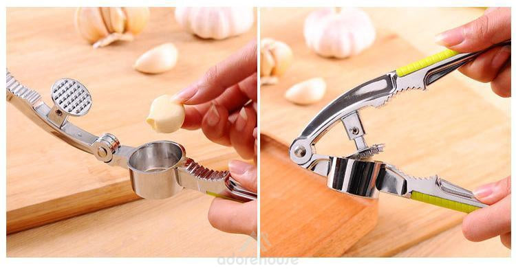 Multi-function Stainless Garlic Crusher-Kitchen Tools & Gadgets-Adorehouse.com