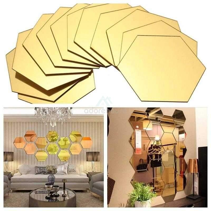 3D Mirror Wall Sticker Removable Crafts-Wall Decor-Adorehouse.com