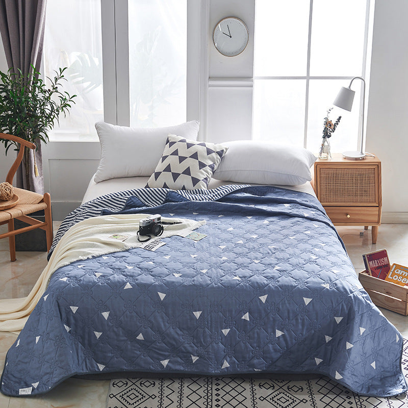 Summer Washed Quilt Air-conditioning Soft Breathable Cool Blanket