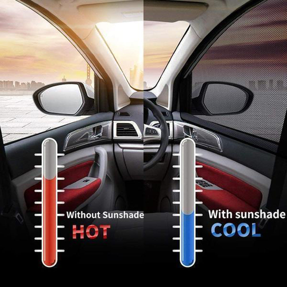 Hot Selling -- Best Universal Car Window Sun Shade Curtain