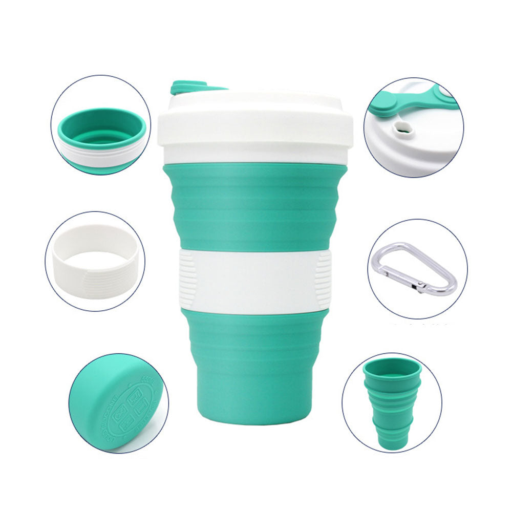 Silicone Cup Folding Water Cup