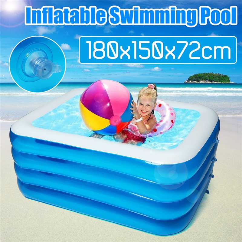 Inflatable Pool Baby Swimming Pool Outdoor Children Basin Bathtub