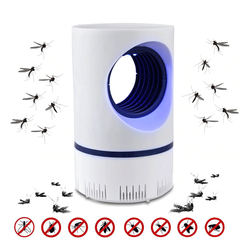 UV Mosquito Killer Lamp USB Electric Insect Killer Night Light