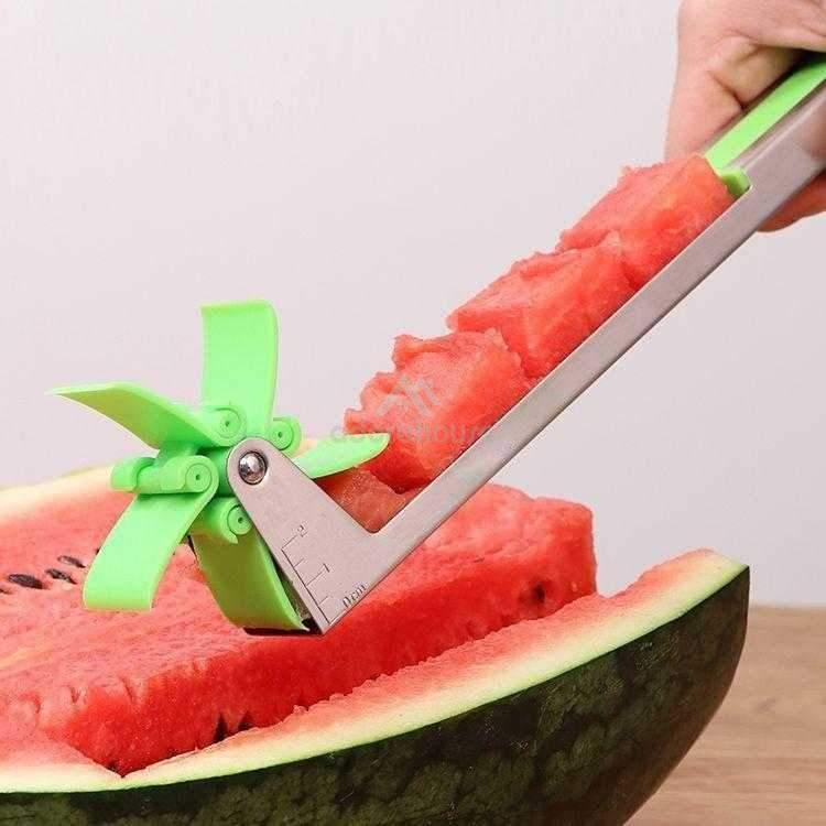 Stainless Steel Windmill Watermelon Cut Tool-Fruit & Vegetable Tools-Adorehouse.com