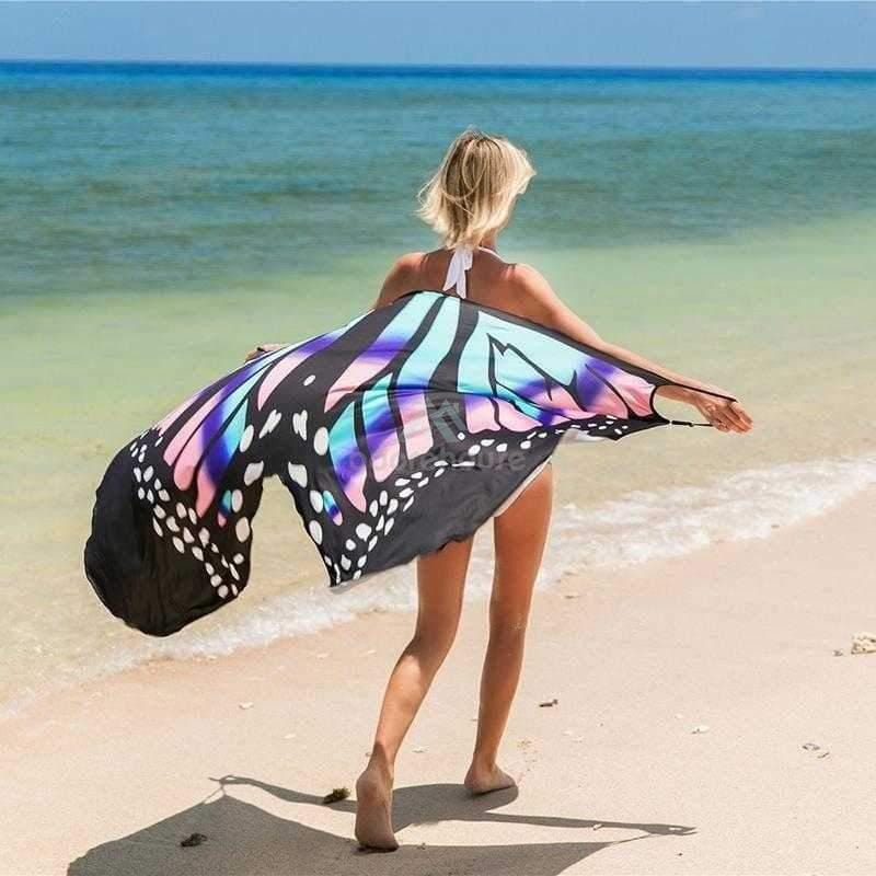 Fashion Beach Bikini Wrap Cover Up Long Maxi Dress-Blankets & Throws-Adorehouse.com
