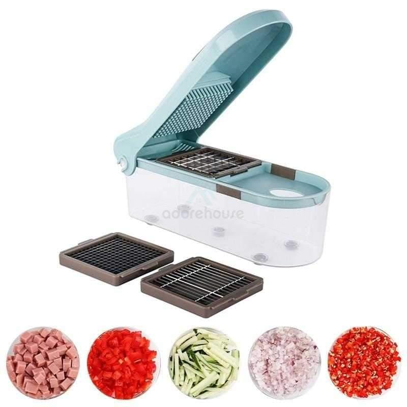 Stainless Steel Blade Manual Potato Grater Dicer-Fruit & Vegetable Tools-Adorehouse.com
