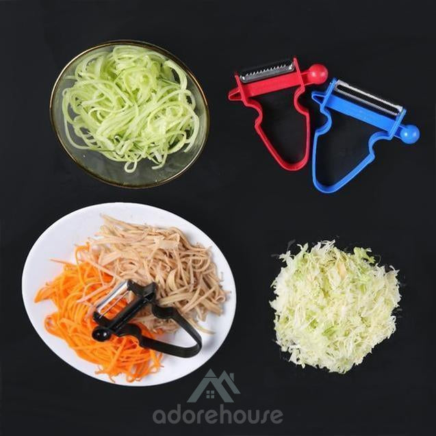 Non-Slip Stainless Steel Blades Peeler-Fruit & Vegetable Tools-Adorehouse.com