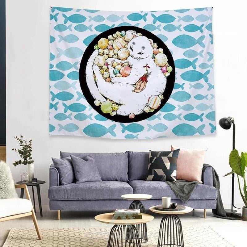 Printed Polyester Wall Hanging Tapestry-Wall Decor-Adorehouse.com