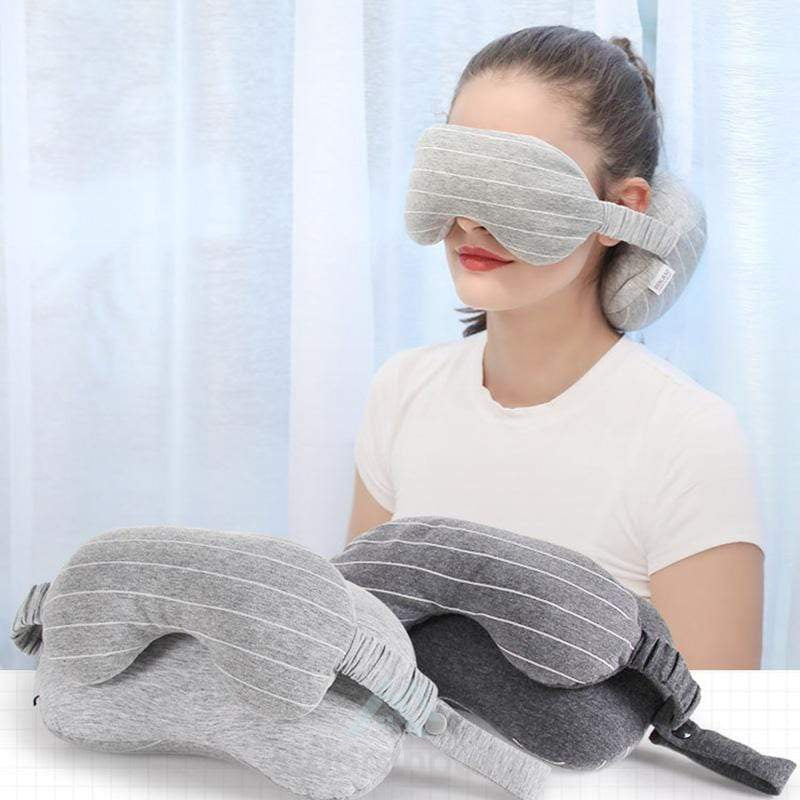 2 In 1 Portable Multi-functional Travel Pillow-Decorative Pillows-Adorehouse.com