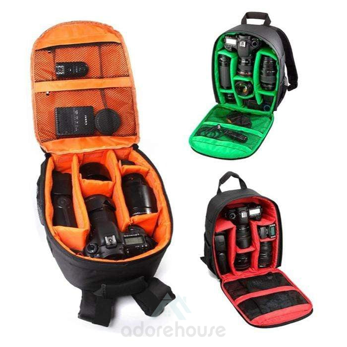 Water Proof DSLR Camera Bakpack Anti -theft Storage Bag Rucksack For Camera-Digital Case & Bags-Adorehouse.com