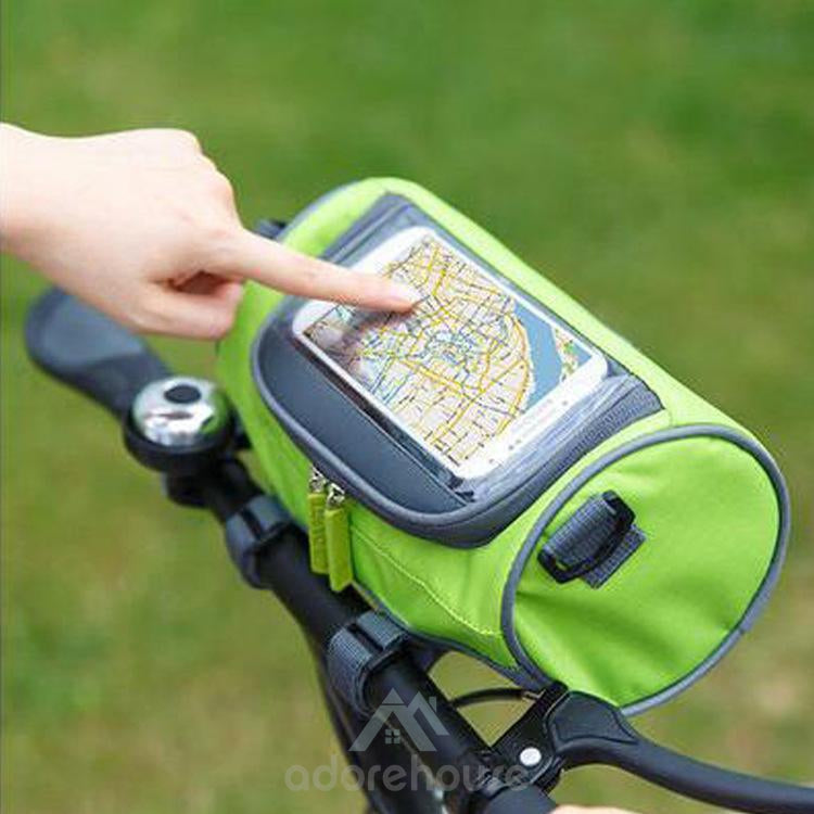Bike Touch Screen Phone Storage Bag Handlebar Bag Waterproof Bicycle Front Storage Bag-Digital Case & Bags-Adorehouse.com