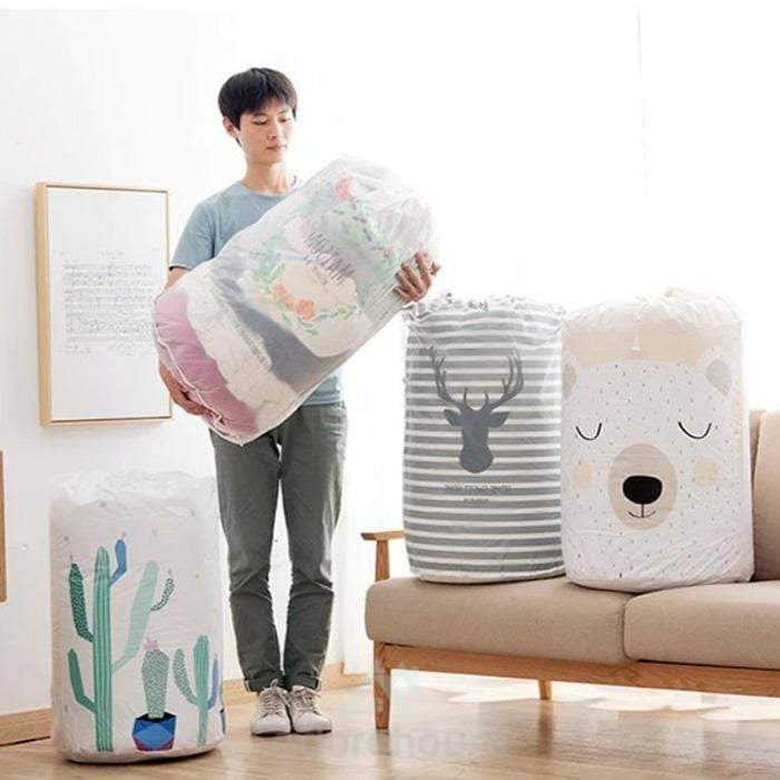 Multifunction Clothes Quilts Dustproof Storage Bag-Clothes & Quilts Storage-Adorehouse.com