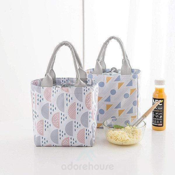 Bunch Mouth Insulation Package Outdoor Picnic Lunch Bag-Lunch Bag-Adorehouse.com