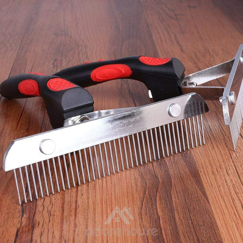 Stainless Steel Pins Removal Comb Hair Clipper-Dogs-Adorehouse.com