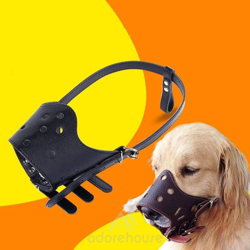 Adjustable Dog Mouth Cover Pet Mask-Dogs-Adorehouse.com