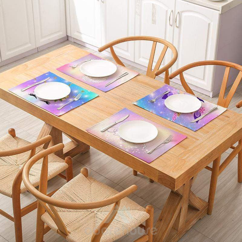 Cartoon Waterproof Placemat Table Mat-Tablecloth-Adorehouse.com