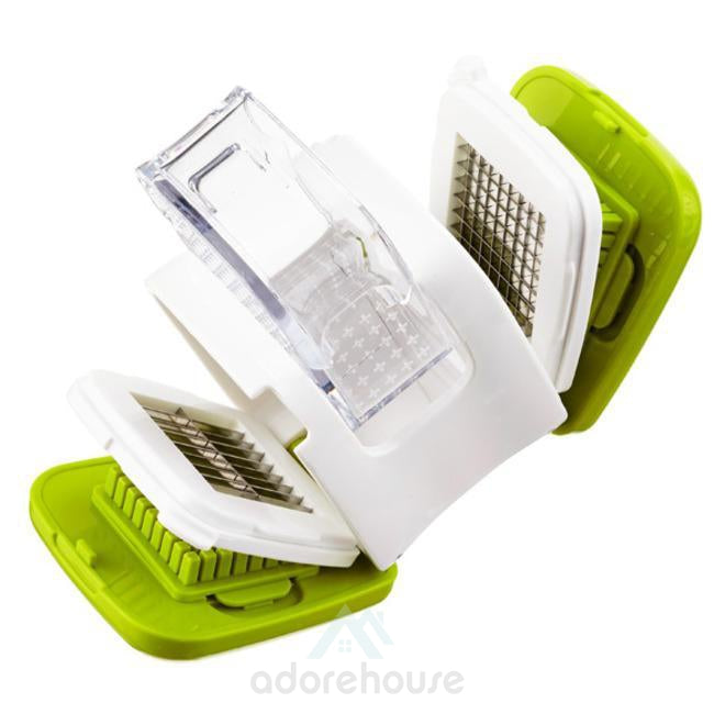 Garlic Crusher Grinder Slicer Cutter Chopper-Kitchen Tools & Gadgets-Adorehouse.com