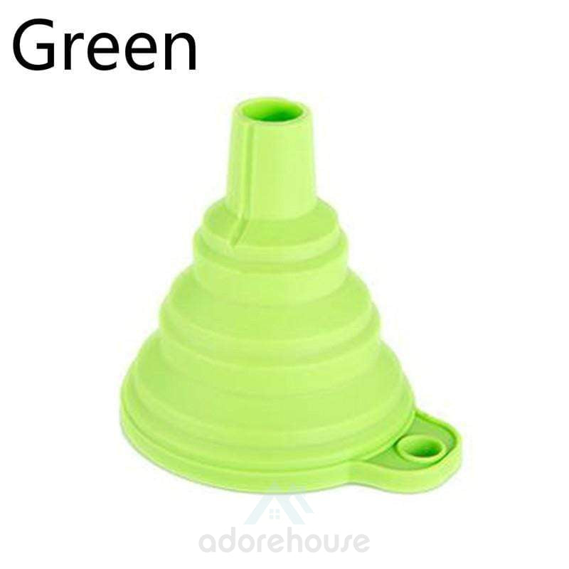 Foldable Funnel Silicone Funnel Folding Funnels-Kitchen Tools & Gadgets-Adorehouse.com