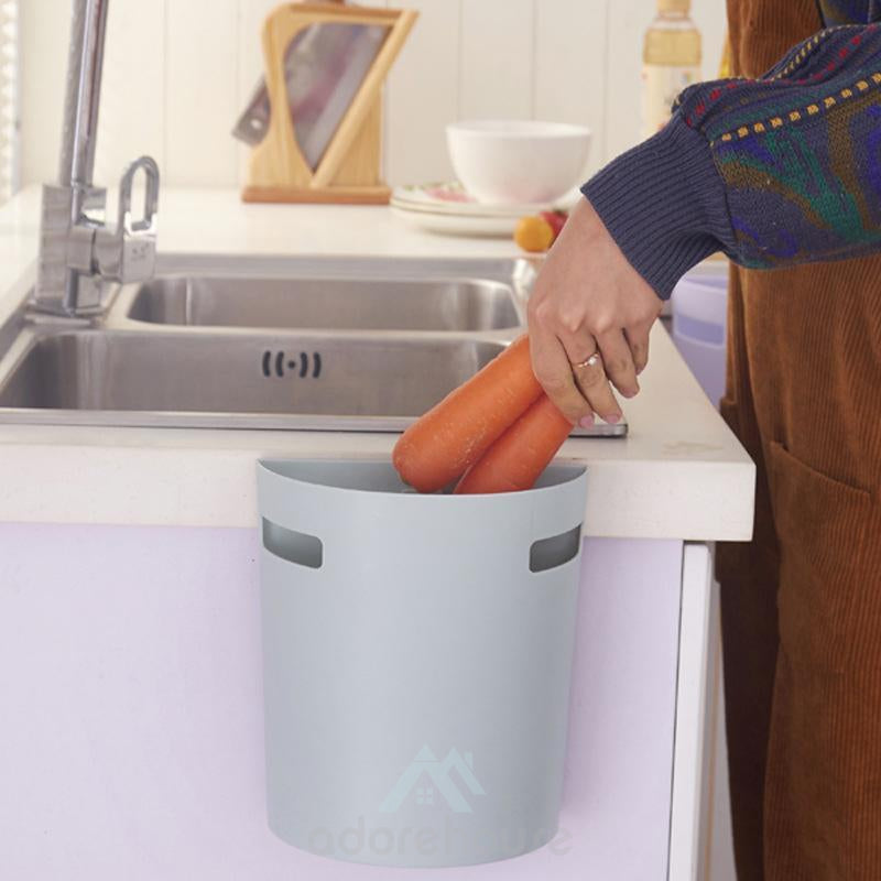 Hanging Trash Can Bathroom Garbage Can-Kitchen Cleaning Tools-Adorehouse.com