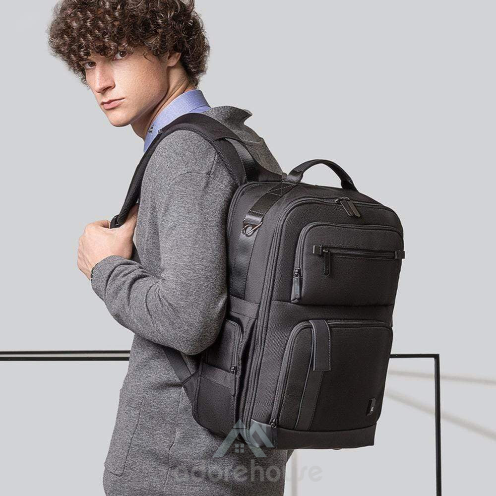 Large Capacity Waterproof Business Laptop Bag-Backpacks-Adorehouse.com