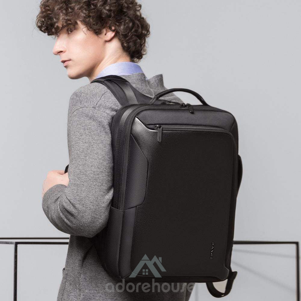 Anti-thief Bag USB Charging Laptop Backpack Waterproof Travel Backpack-Backpacks-Adorehouse.com