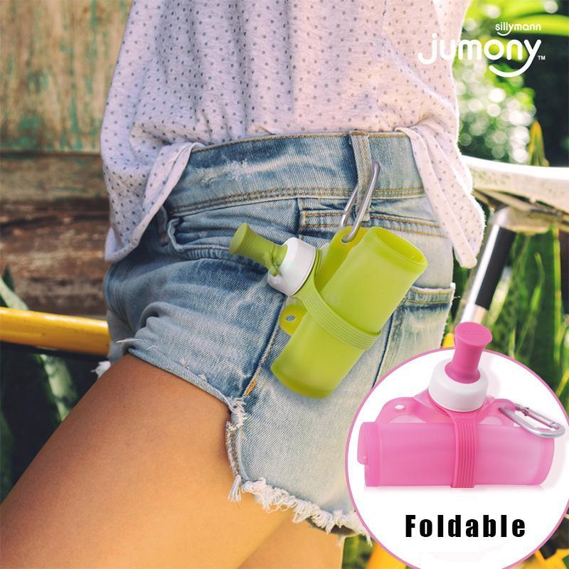 Portable Silicone Folding Water Bottle-Drinkware & Dinnerware-Adorehouse.com