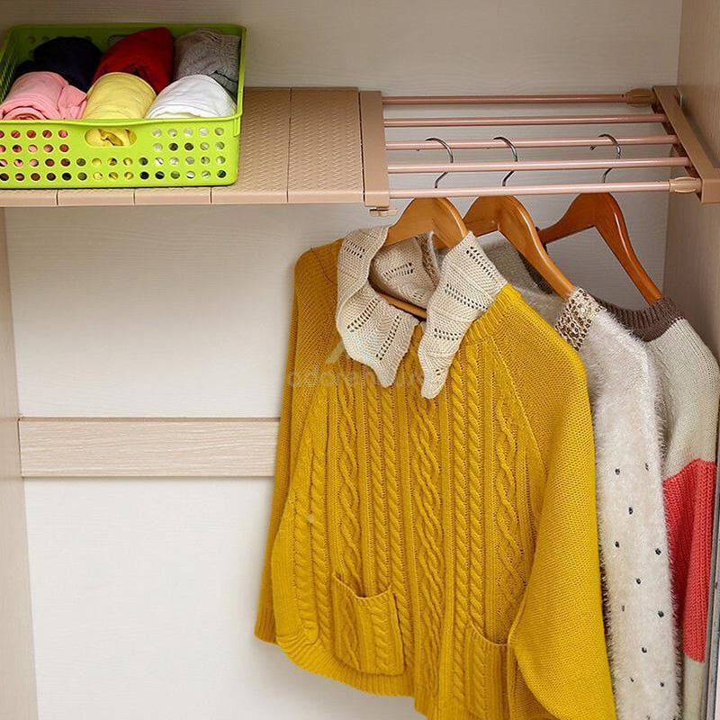 Adjustable Layered Partition Board Storage Shelf-Clothes & Quilts Storage-Adorehouse.com