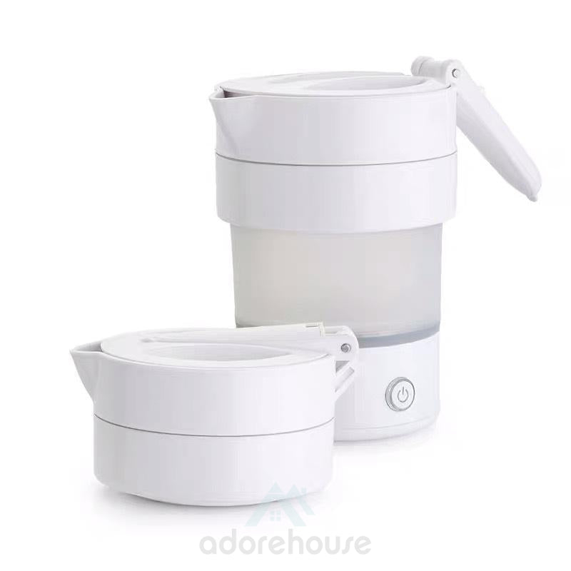 Folding Kettle Compressed Electric Kettle Travel Water Kettle Silicone Insulation Kettle-Kitchen Tools & Gadgets-Adorehouse.com